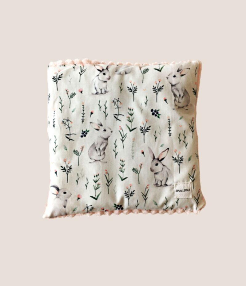 Poduszka płaska króliczki